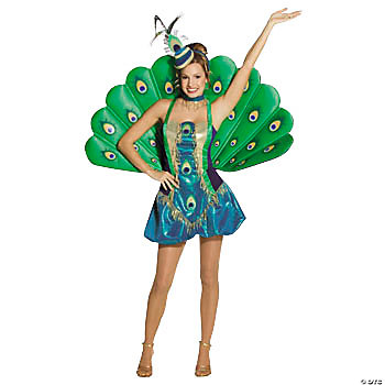 Peacock Adult Women's Costume
