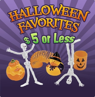 Shop Halloween Favorites Under Five Dollars