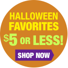 Halloween Favorites $5 or Less!
