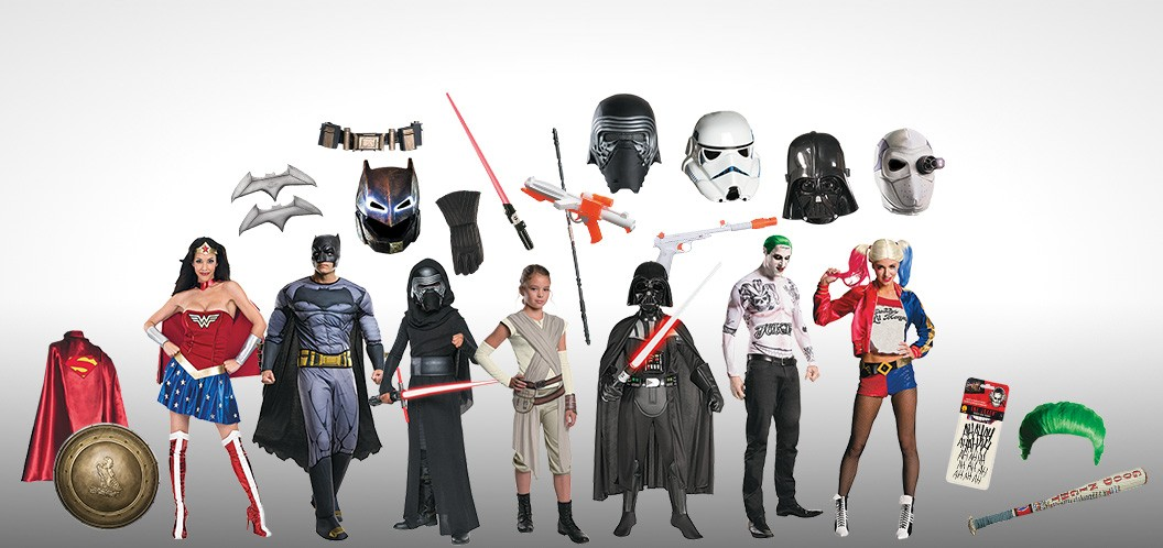 Mix and Match Your Halloween Costume with 1000s of Options!