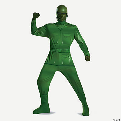 Toy Story Green Army Man Deluxe Costume