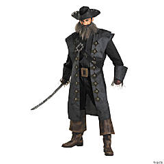 Pirates of the Caribbean Blackbeard Deluxe Adult Men's Costume