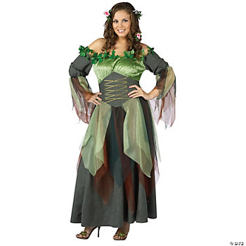 Mother Nature Women's Plus Size Costume