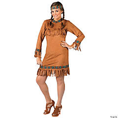 Native American Girl Plus Size Costume