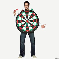 Bull's-Eye Dartboard Adult Costume