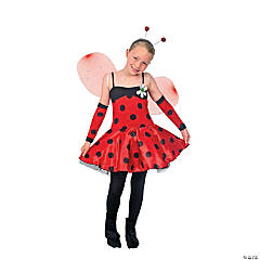Ladybug Costume for Girls