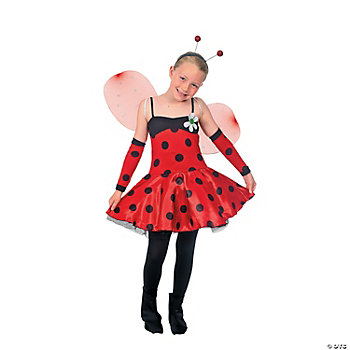 Ladybug Child Girl's Costume