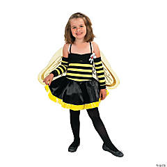 Bumble Bee Child Girl's Costume