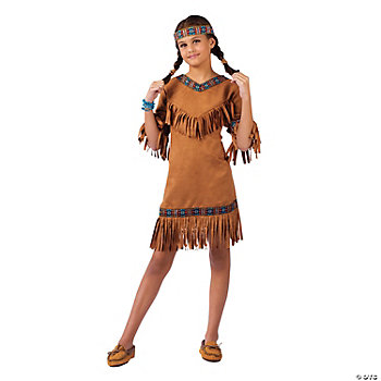 Native American Girl's Costume