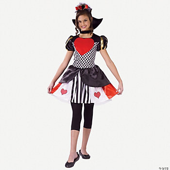 Queen Of Hearts Child's Costume