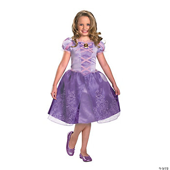 Disney Tangled Rapunzel Classic Girl's Costume