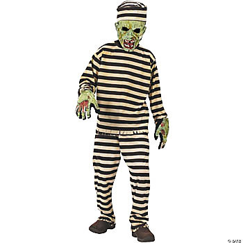 Zombie Convict Child's Costume