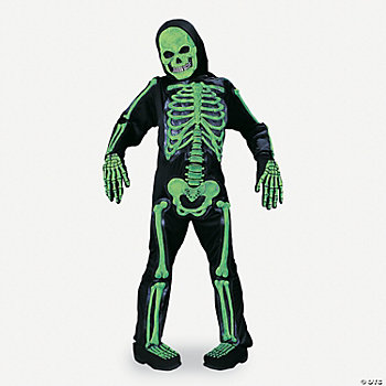 Totally Skelebones Child Boy's Costume