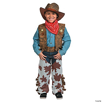 Cowboy Child Boy's Costume