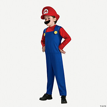 Super Mario™ Mario™ Boy's Costume