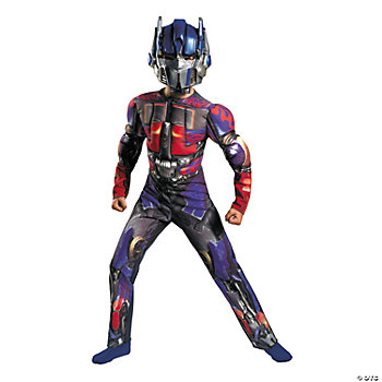 Transformers™ Optimus Prime Classic Muscle Boy's Costume