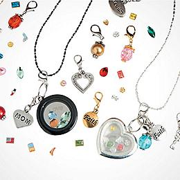 Jewelry making beading supplies orientaltrading floating charm lockets mozeypictures Image collections