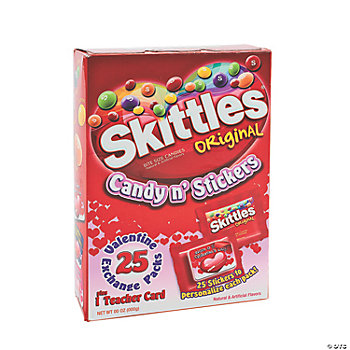 Skittles® Valentine Candy & Stickers