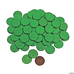 St. Patrick's Day Chocolate Coins