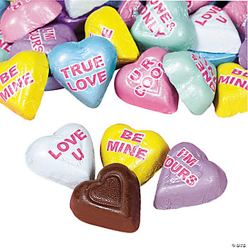 Chocolate Conversation Hearts