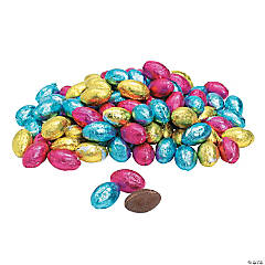 Chocolate Easter Candy Eggs