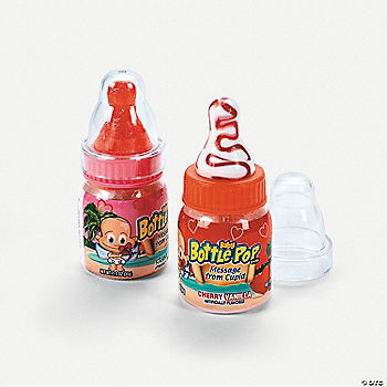 Baby Bottle Pop Candy Valentines Oriental Trading
