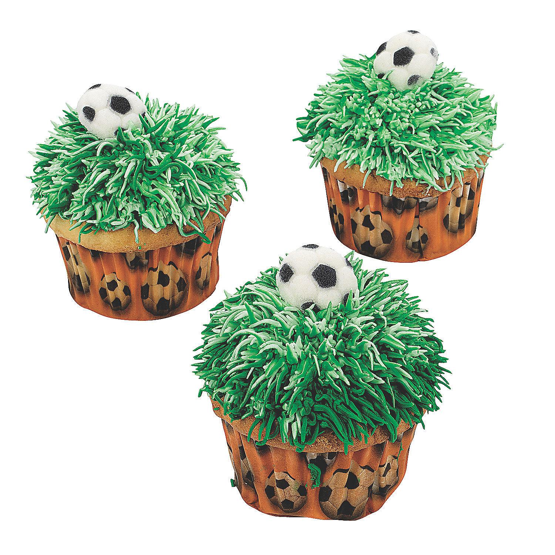 Sports balls baking dec ons sugar decorations oriental for K decorations trading