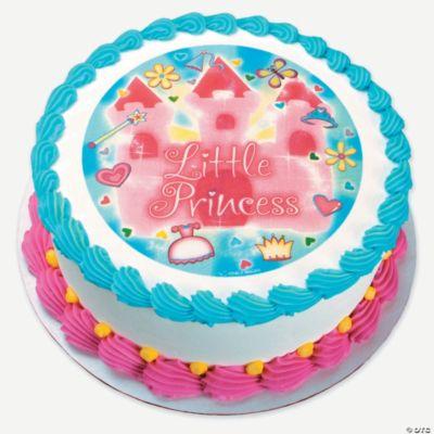 Edible Cake Images Storage : ?Little Princess? Cake Design Edible Image  - Oriental ...