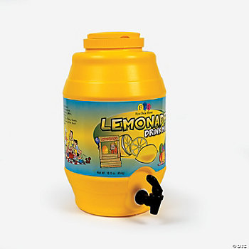 Lemonade Drink Barrel