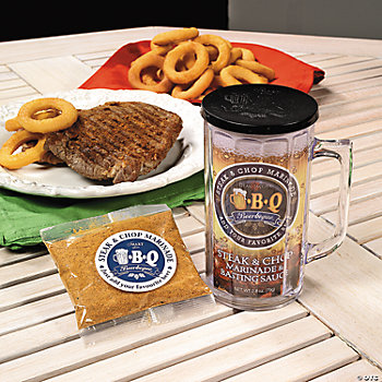 """Beerbeque"" Marinade Mugs"