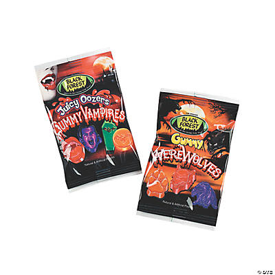 Gummy Vampires & Werewolves Treat Packs