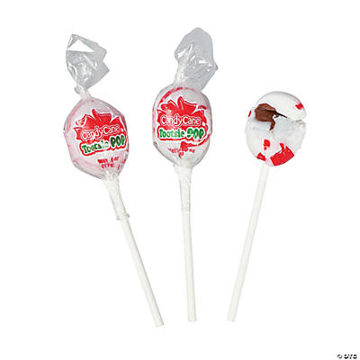 Candy Cane Tootsie Pops®