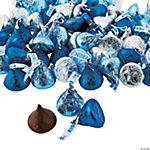 Blue & Silver Hershey's® Kisses®