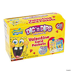 SpongeBob SquarePants™ Dig'nDips® Valentine Candy Card Packets