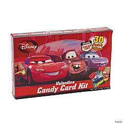 Disney Cars Valentine Candy Card Kit