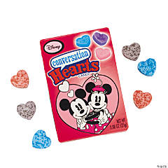 Mickey & Minnie Valentine Candy Conversation Hearts