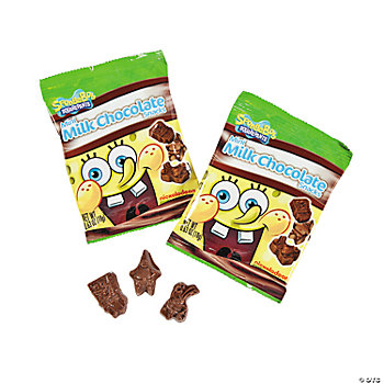 SpongeBob Squarepants™ Mini Milk Chocolate Snacks