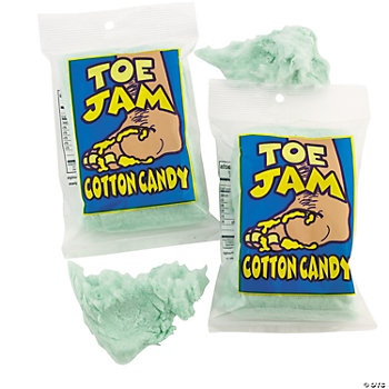 Toe Jam Cotton Candy