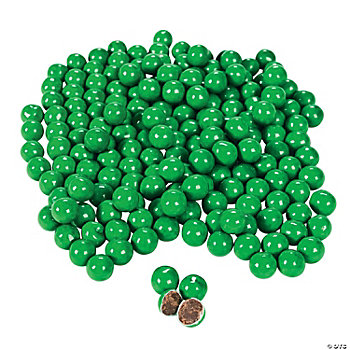Green Chocolate Candies