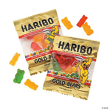 Haribo® Gummi-Bears Mini Packs