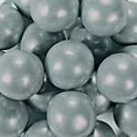 Large Silver Gumballs