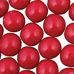 Large Red Gumballs
