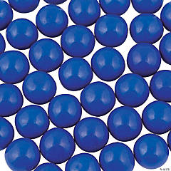 Large Royal Blue Gumballs