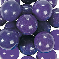 Purple Large Gumballs