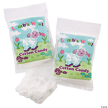"""Lamb's Wool"" Cotton Candy"