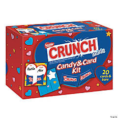 Nestle® Crunch® Valentine Candy & Card Kit