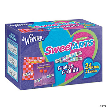 Wonka® Sweetarts® Valentine Candy & Card Kit