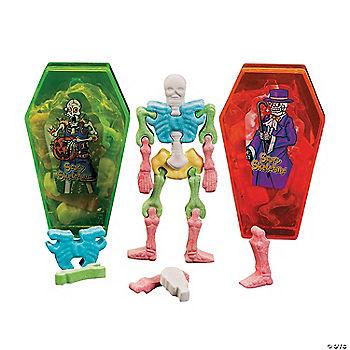 interlocking skeleton bone hard candy