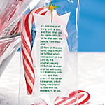 Bible Verse Candy Canes