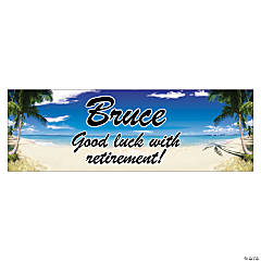 Personalized Beach Banners